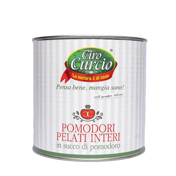 Pomodori pelati interi in succo di pomodoro – COD. LPRG