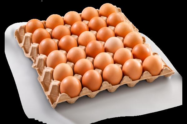 Uova di galline allevate in gabbia confezione da 30-COD.L