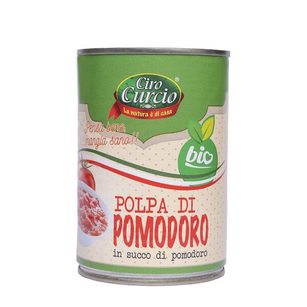 Polpa di pomodoro in succo di pomodoro biologico-COD.LPBB
