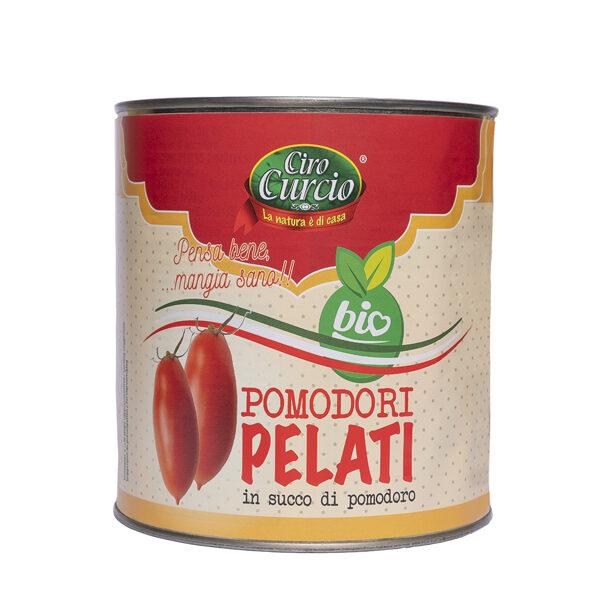 Pomodori pelati in succo di pomodoro biologico-COD.LPBG