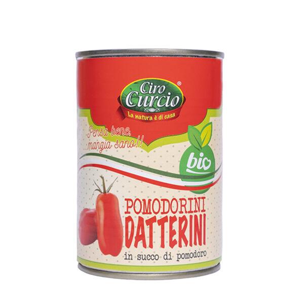 Pomodorini datterini in succo di pomodoro biologico-COD.LPDB