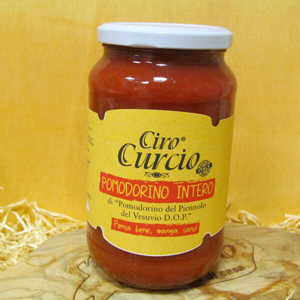 Pomodorino del piennolo del Vesuvio DOP intero in succo di pomodorino del piennolo del Vesuvio DOP-COD.PO6