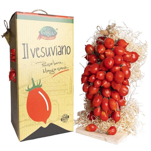 Pomodorino del piennolo del Vesuvio DOP a grappolo (grande) – COD. SPPV